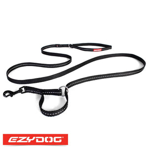EzyDog Vario 4 Lite Black Ezydog Dog Leash