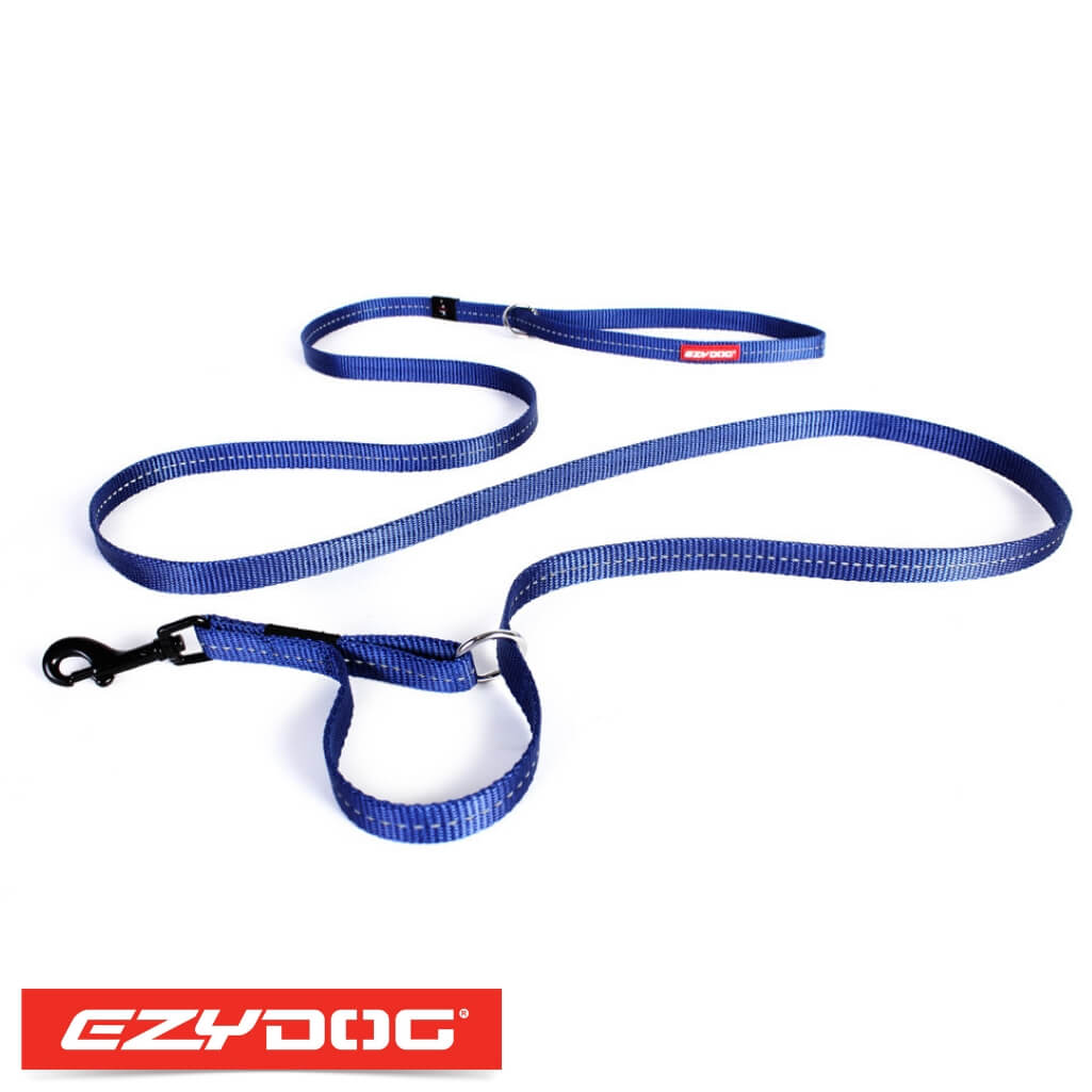 EzyDog Vario 4 Lite Blue Ezydog Dog Leash
