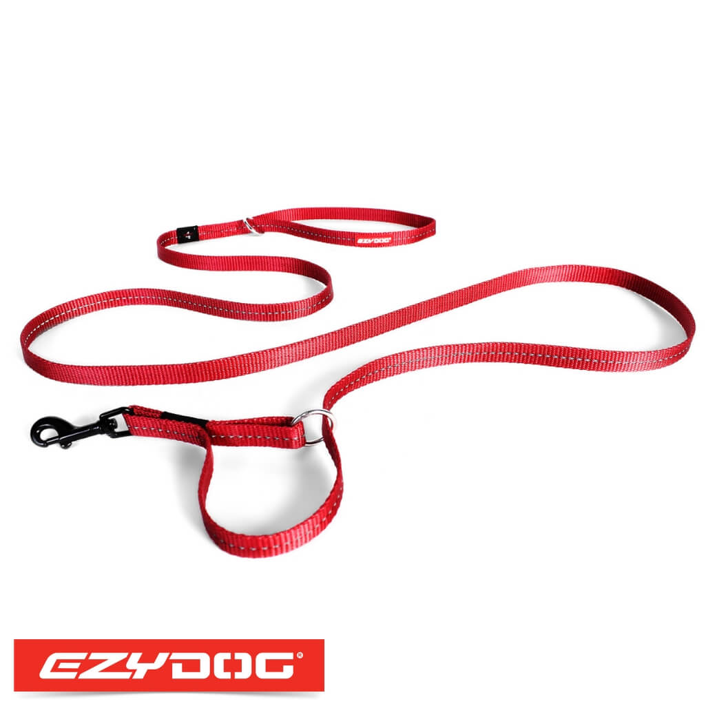 EzyDog Vario 4 Lite Red Ezydog Dog Leash