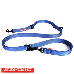 EzyDog Vario 6 Blue Ezydog Dog Leash