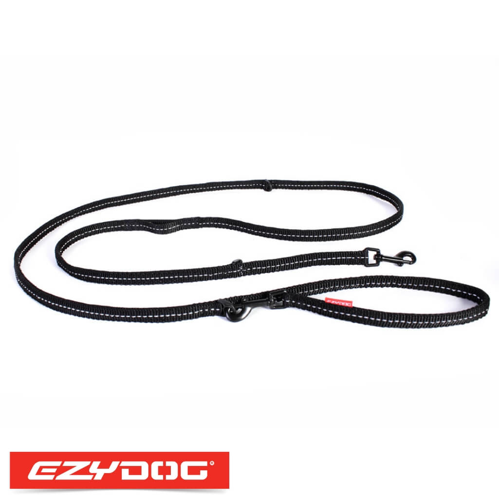 EzyDog Vario 6 Lite Black Ezydog Dog Leash