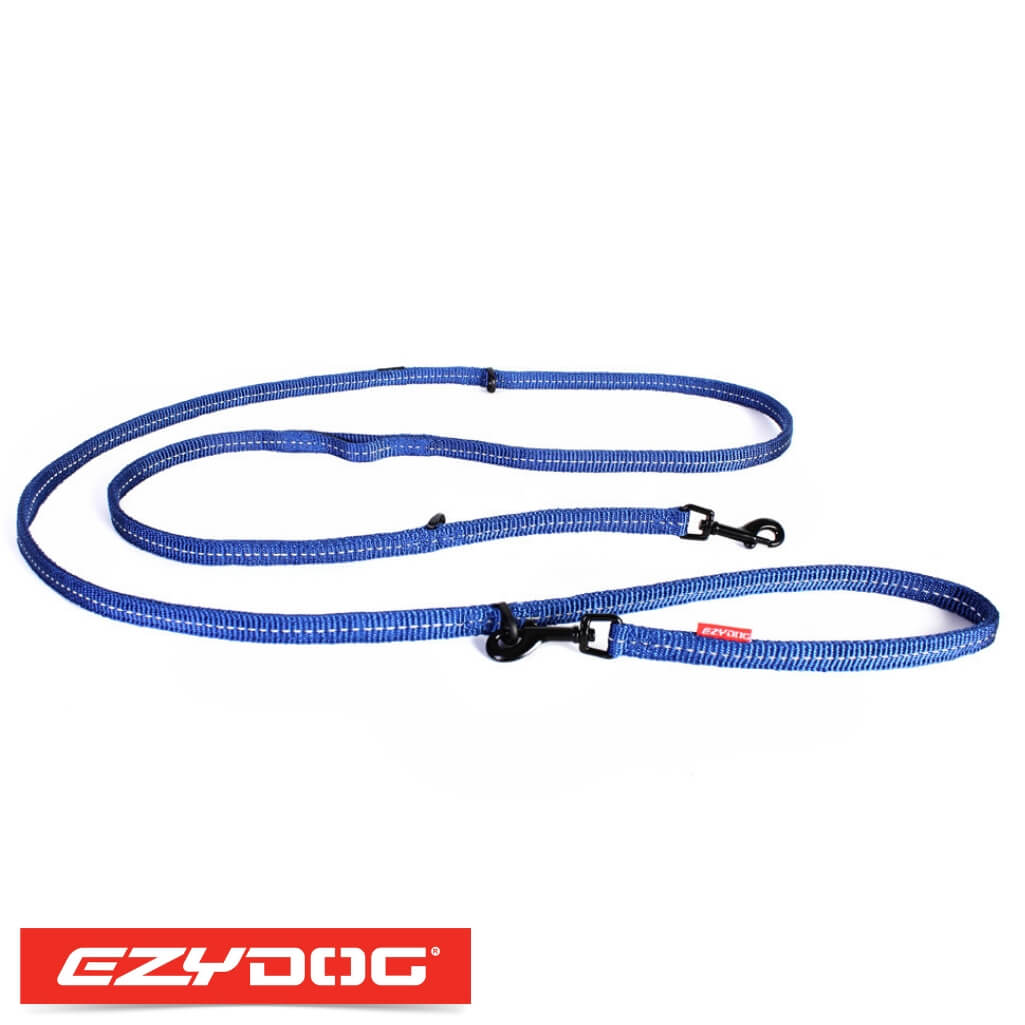 EzyDog Vario 6 Lite Blue Ezydog Dog Leash