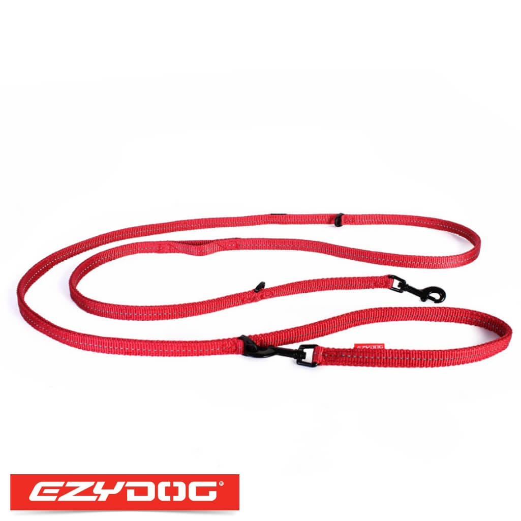 EzyDog Vario 6 Lite Red Ezydog Dog Leash