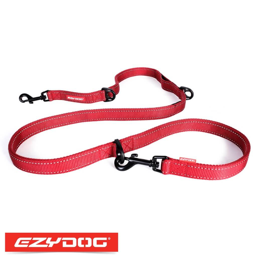 EzyDog Vario 6 Red Ezydog Dog Leash