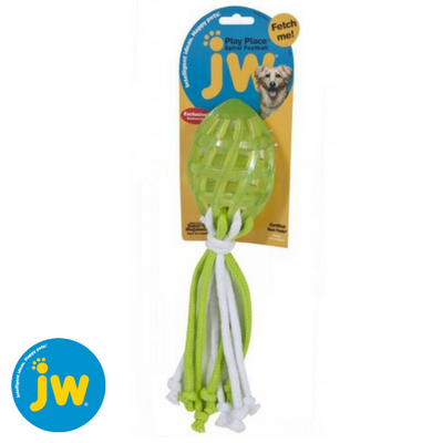 JW-play-place-spiral-football-with-rope-tail-green