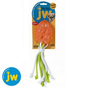 JW-play-place-spiral-football-with-rope-tail-orange