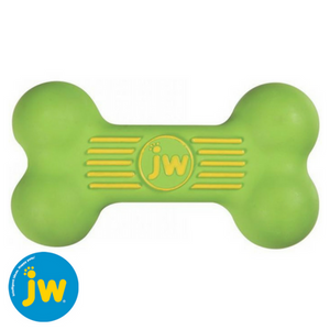 JW-isqueak-bone-green