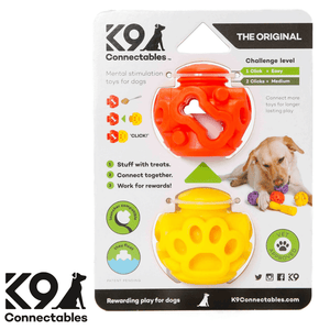 k9 Connectables Australia - The Original Orange Yellow