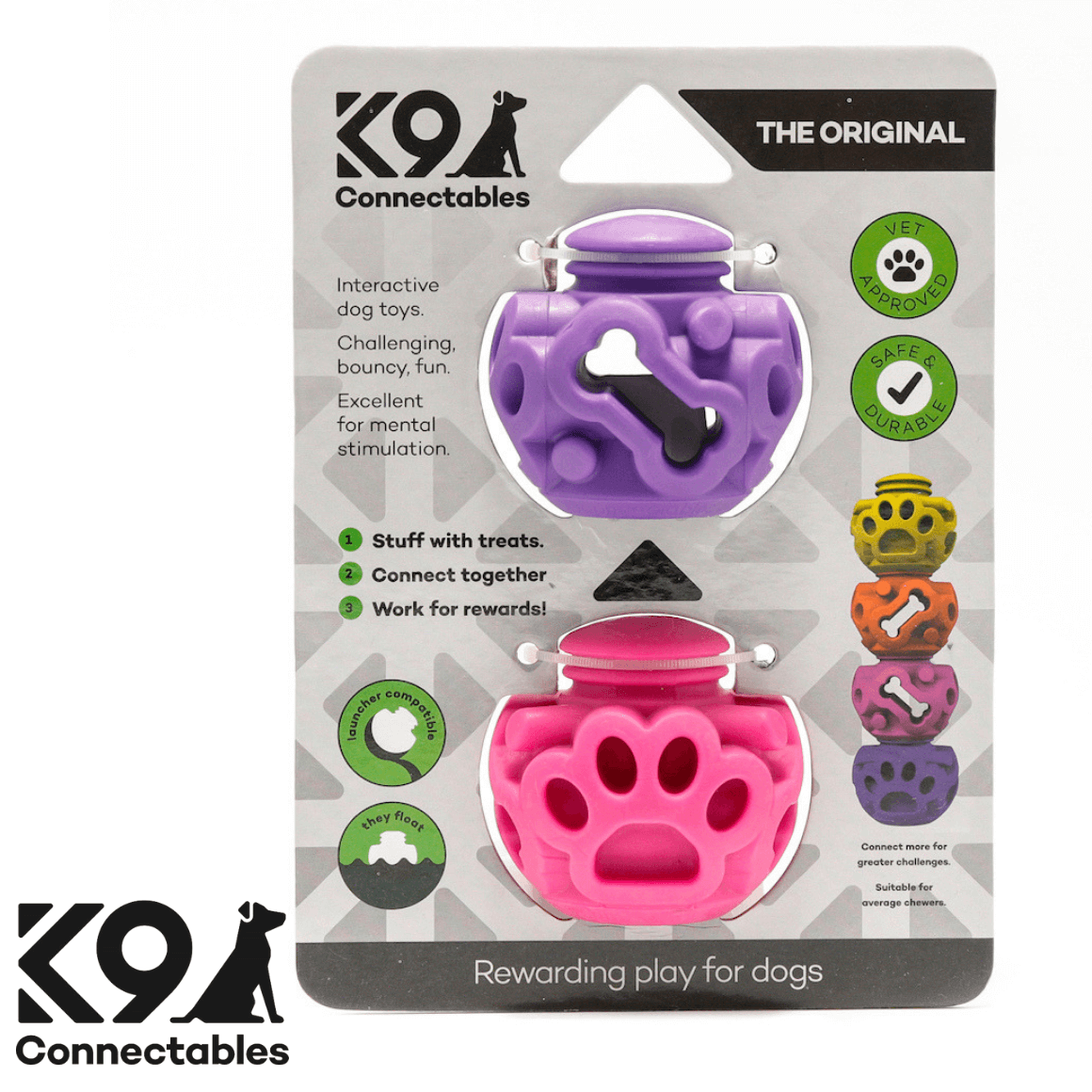 k9 Connectables Australia - The Original Pink Purple