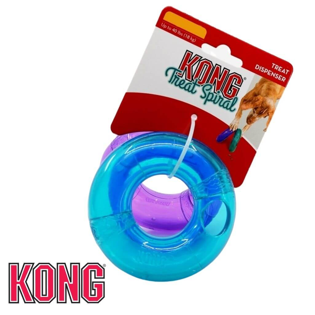 KONG Treat Spiral Ring Treat Dispensing Dog Toy