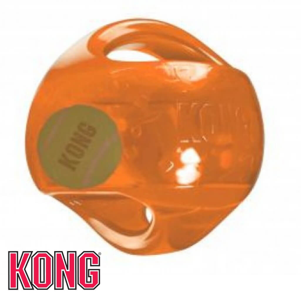 KONG Jumbler Ball Dog Toy Orange KONG Dog Toys Australia