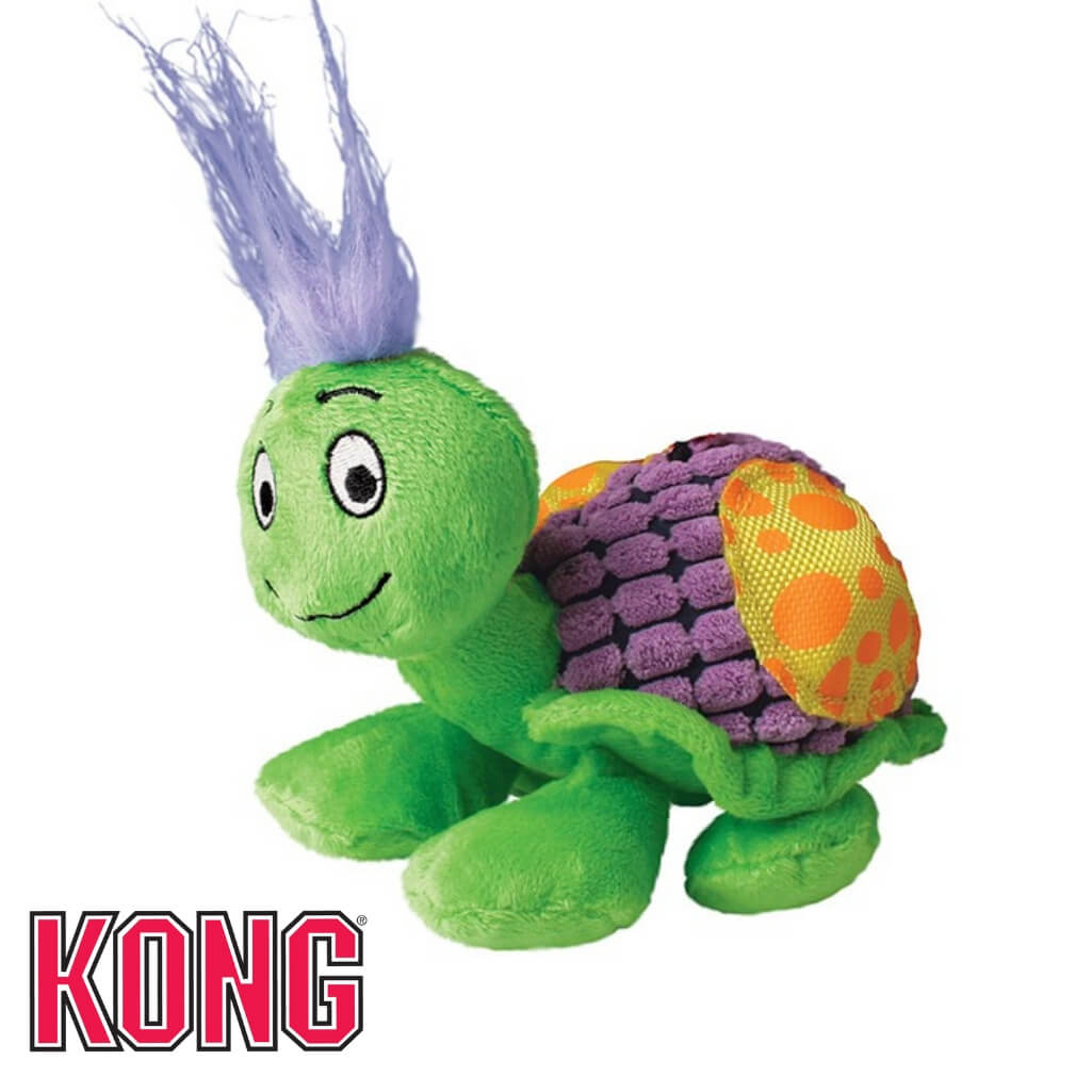 Kong Picnic Patches Snail Soft Dog Toy