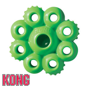 Kong Quest Star Pods Green Treat Dispensing Dog Toy