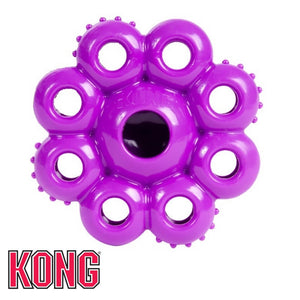 Kong Quest Star Pods Purple Treat Dispensing Dog Toy