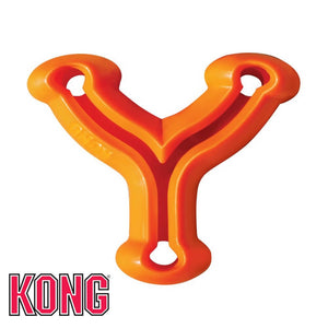 KONG Quest Wish Bone Treat Dispensing Dog Toy Orange