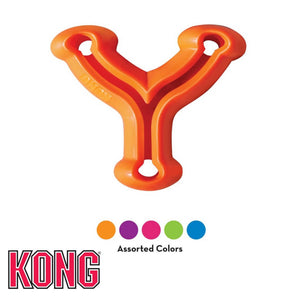 KONG Quest Wish Bone Treat Dispensing Dog Toy Assorted Colours
