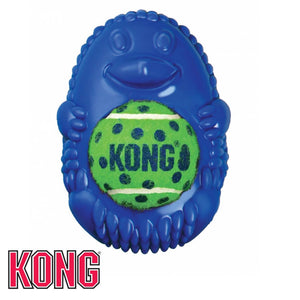 KONG Tennis Pals Hedgehog Blue KONG Dog Toys Australia