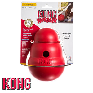 KONG Wobbler Treat Dispensing Dog Toy Small