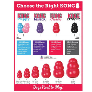 Choose the Right Kong | Kong Dog Toys Australia