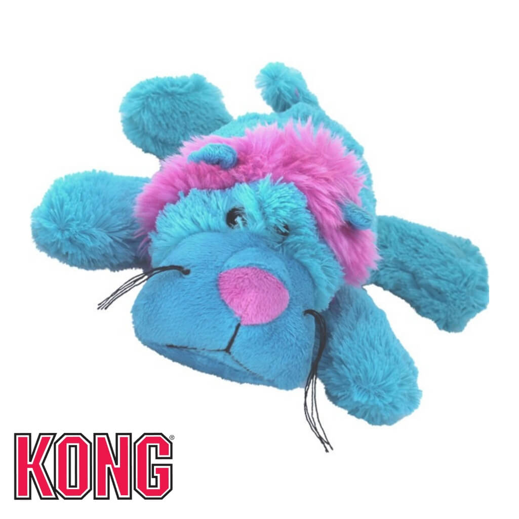 Kong Cozie King Lion Plush Dog Toy
