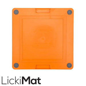 Lickimat Soother Tuff Orange | Lickimat Australia