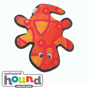 Outward Hound Invincibles Gecko Red/Orange