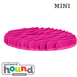 Outward Hound Fun Feeder Slow Feed Mat Pink Large