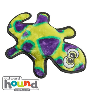 Outward Hound Gecko 2 Squeak Green/Purple