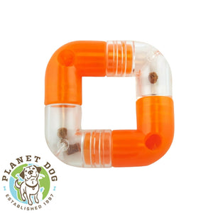 Planet Dog Orbee-Tuff Link Interactive Dog Toy Orange