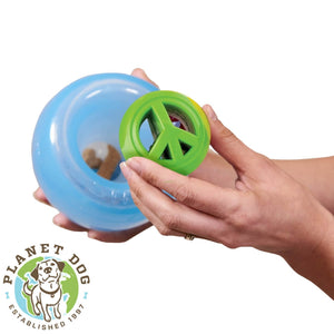 Planet Dog Orbee-Tuff Snoop Interactive Dog Toy Blue with Nook Planet Dog Australia