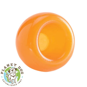 Planet Dog Orbee-Tuff Snoop Interactive Dog Toy Orange Planet Dog Australia