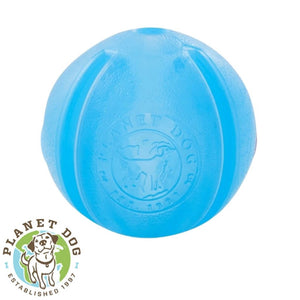 Planet Dog Orbee-Tuff Guru Treat Dispensing Ball Blue Planet Dog Australia