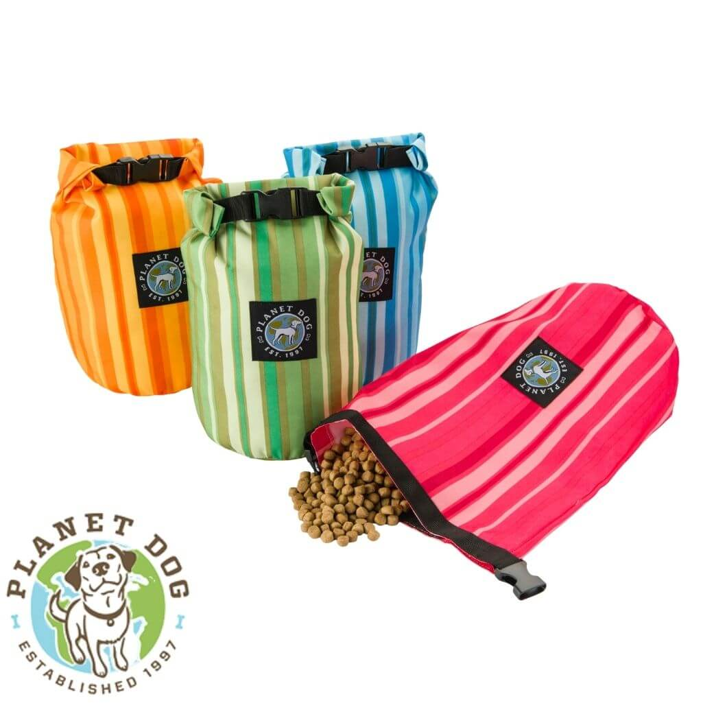 Planet Dog On the Go Feedbag Kibble Storage Travel Bag