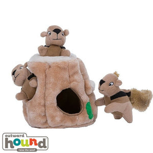 Outward Hound Hide A Squirrel Puzzle Dog Toy Jumbo