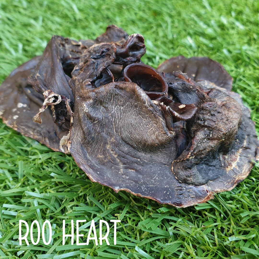 Natural Dog Treats - Roo Heart