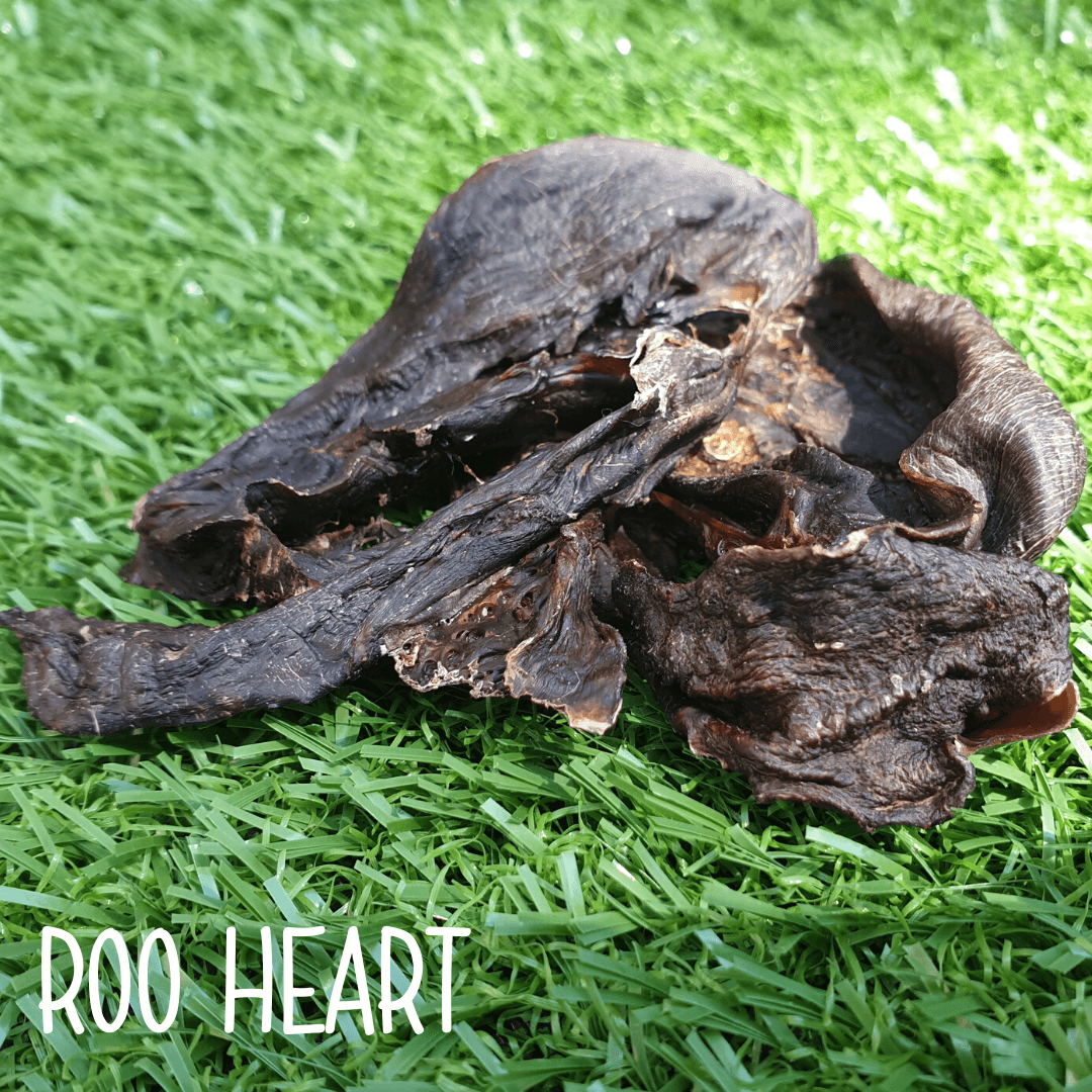 Natural Dog Treats - Kangaroo Heart