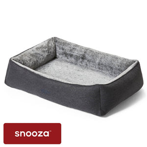 Snooza Snuggler Chinchilla - orthopedic dog beds australia