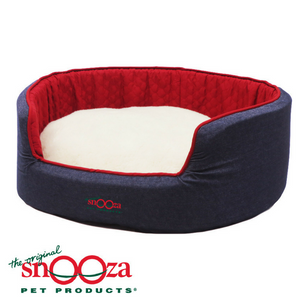 snooza-buddy-bed-denim-dog-woolly
