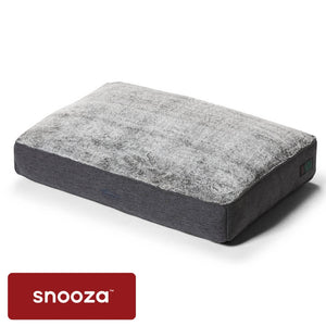 Snooza Shapes Oblong Chinchilla - Snooza Dog Beds