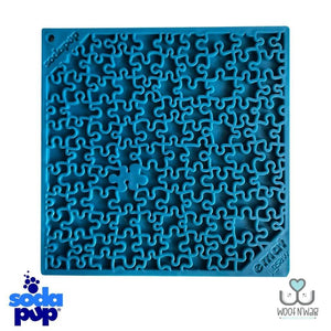 NEW! Sodapup Jigsaw EMat + Meal Topper Enrichment Licking Mat Pack!