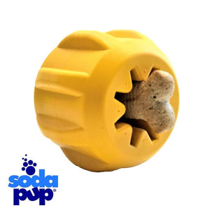 SodaPup ID Gear Ball Treat Pocket Treat Dispenser and Tough Dog Toy