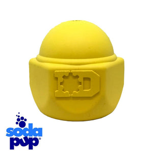 SodaPup ID Cap Nut Tough Dog Toy and Treat Dispenser