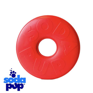 SodaPup Lifesaver Tough Dog Toy and Treat Dispenser
