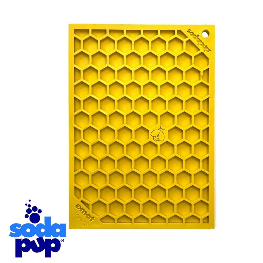 SodaPup Emat Honeycomb Dog Licking Mat