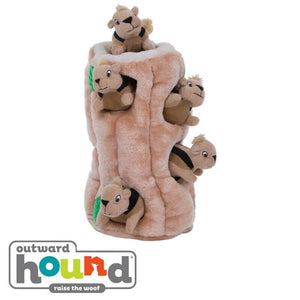 Outward Hound Hide-A-Squirrel Interactive Puzzle Dog Toy Ginormous