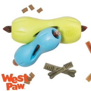 West Paw Qwizzl Tough Treat Dispensing Dog Toy with Treats | West Paw Australia
