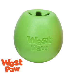 West Paw Rumbl Australia Green - Treat Dispensing Dog Toy