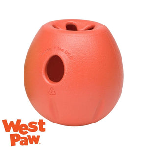 West Paw Rumbl Australia Melon - Treat Dispensing Dog Toy