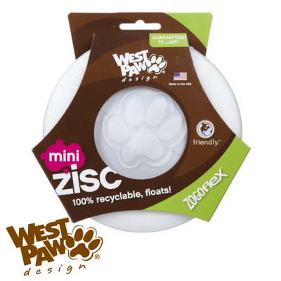 West Paw Zisc Dog Frisbee Glow in the Dark