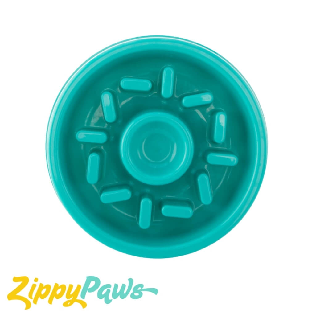 Zippy Paws Happy Bowl Donut Slow Feeder Bowl